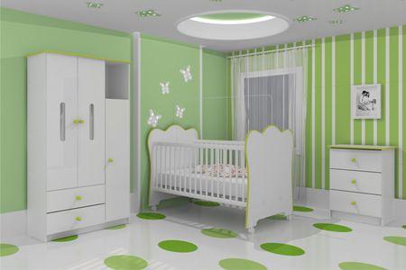 quartos de bebe verdes : J? escolheu a cor do quarto do seu nen?m? Paulo Cezar e as Mam?es