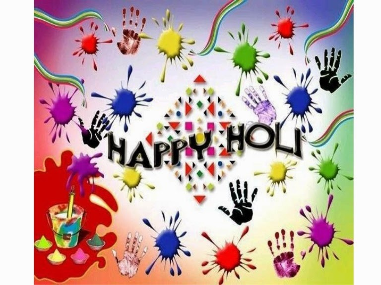 Happy Holi 2014, SMS wishes on a Holi day, Free Holi SMS