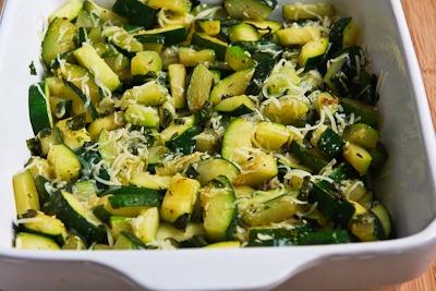 Monster Zucchini and Basil Strata - Kalyn's Kitchen
