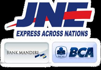 Jne,Bank Mandiri dan Bank BCA