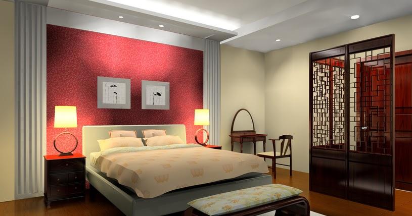 Chambre rouge beige ~ Design de maison