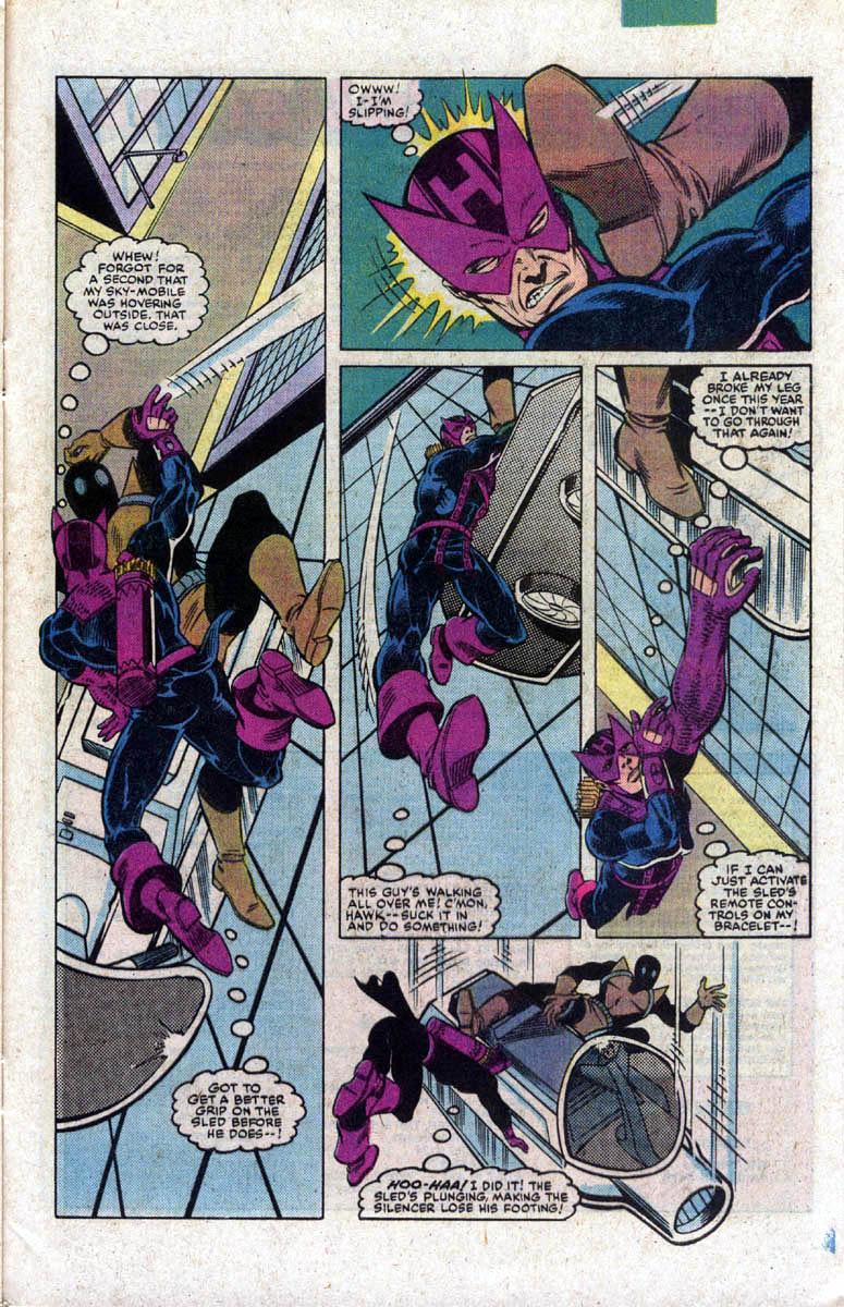 Hawkeye (1983) Issue #2 #2 - English 22