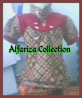 pakaian blus batik