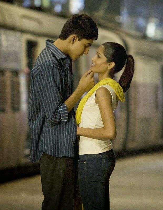 Terminou, o namoro entre os atores do filme Quem Quer Ser um Milionário