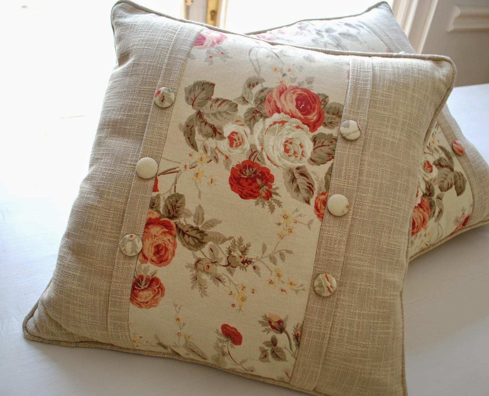 Paz montealegre decoraci n cojines para living y dormitorio - Cojines grandes para cama ...
