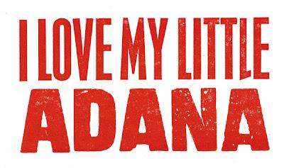 adana print: I love my little Adana