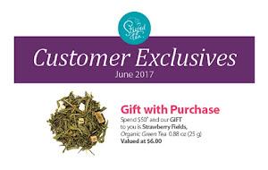 June Free Tea
