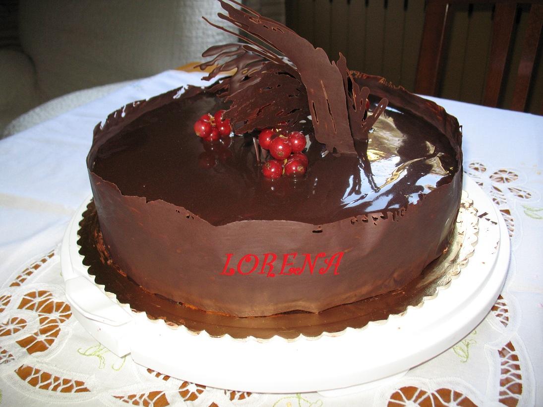 Le torte di lorena e non solo torta cioccolatosa - Decorazioni torte con glassa ...