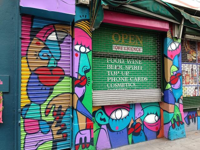 street art, Picasso, cubism