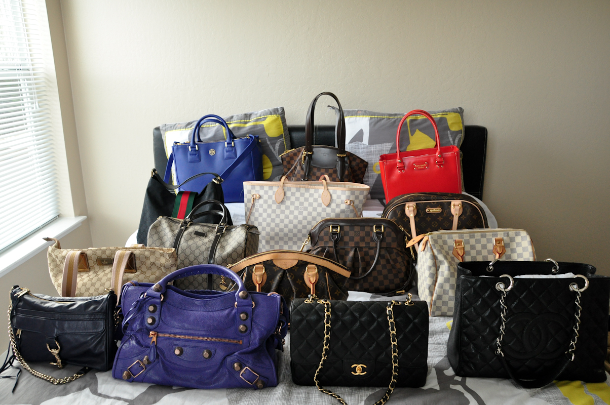 My Handbag Collection by LaDy Magenta22