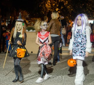 Halloween in Moraira aan de Costa Blanca