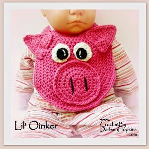 Lil' Oinker Baby Drool Bib