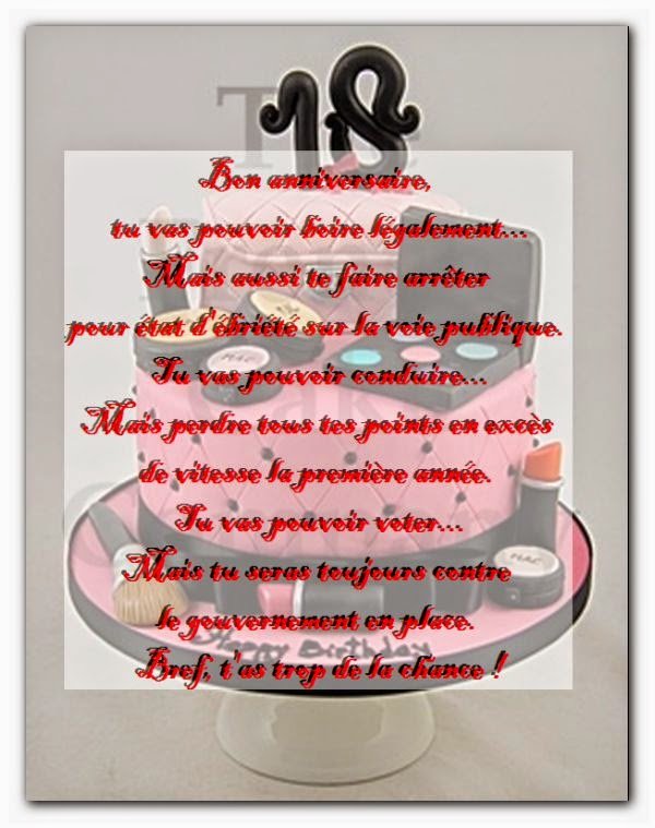 Favori Carte Invitation 18 Ans. Une Carte Pour Un Futur Chef With Carte  WY54