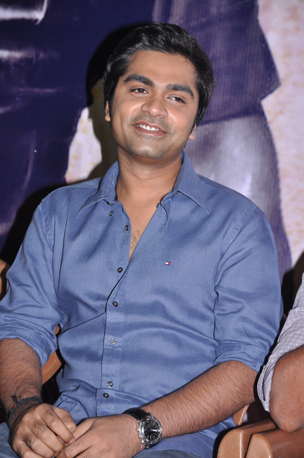 simbu and tr press meet the