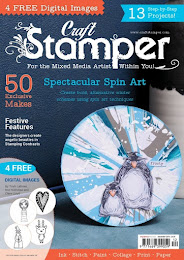 My Christmas Ornament was featured in Craft Stamper Magazine December 16