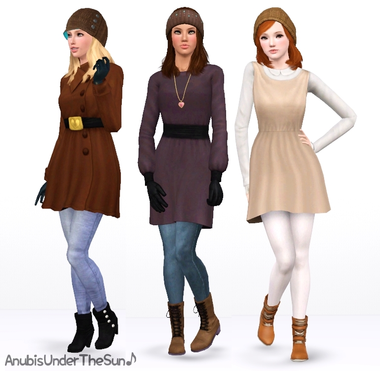 Sims 3 black dress juniors