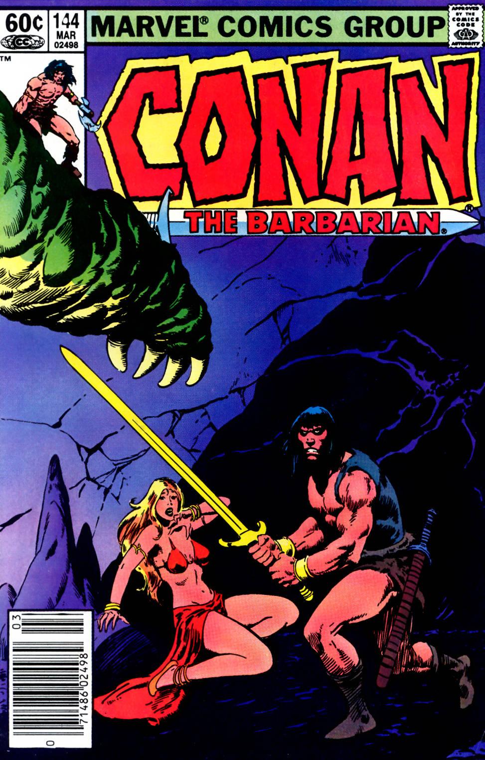 Conan the Barbarian (1970) Issue #144 #156 - English 1
