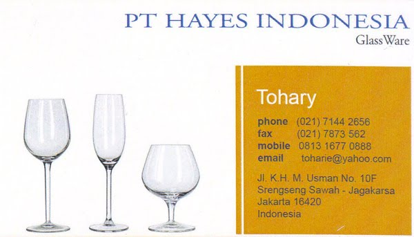 Hotel Supplier - Hayes Indonesia PT