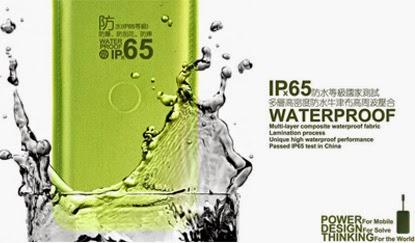 Harga dan Spesifikasi Loca Waterproof Powerbank 8000mAh