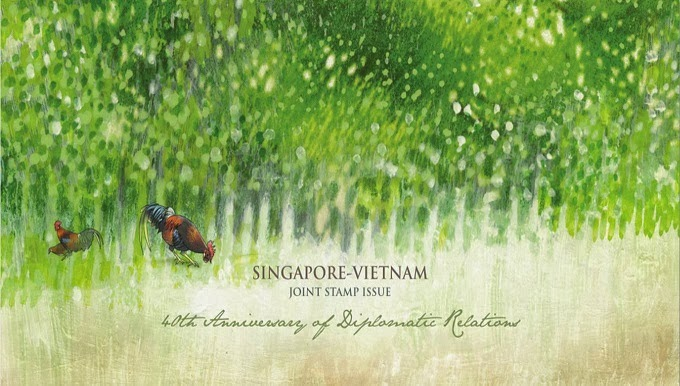 Singapore-Vietnam Joint Issue - Presentation Pack (Stamps only)