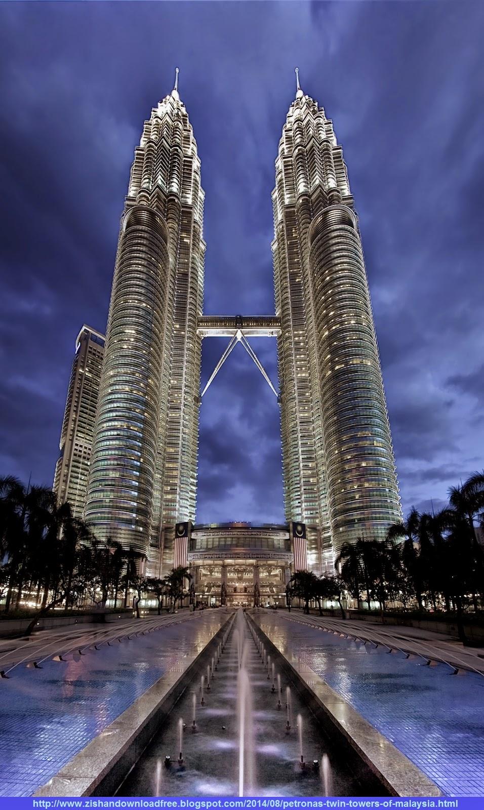 Petronas Twin Towers of Malaysia