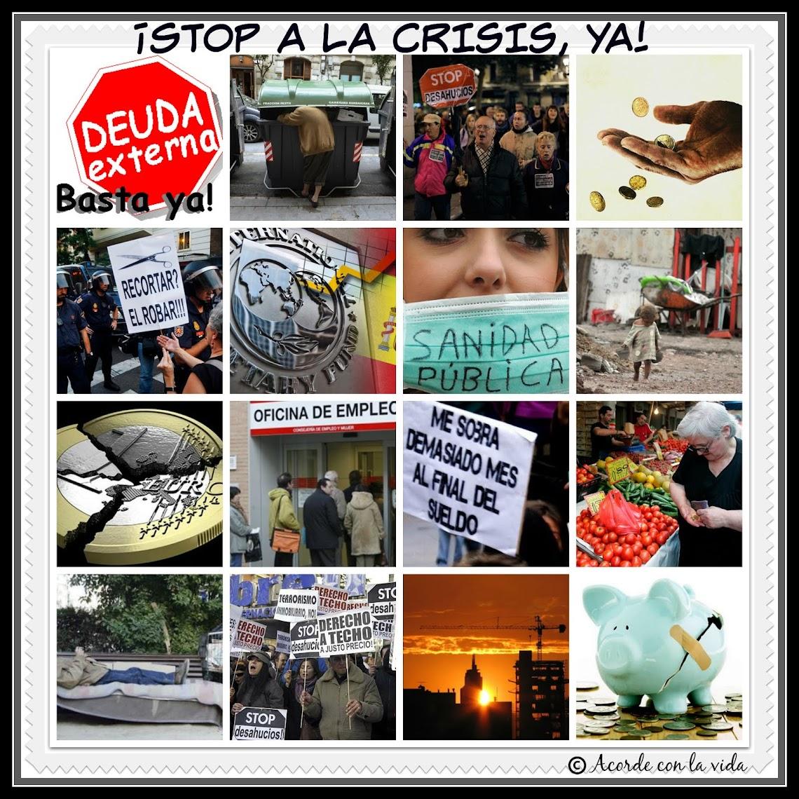 * STOP a la CRISIS *