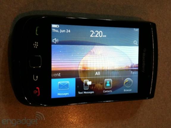 Samsung 2011: Blackberry Bold 4