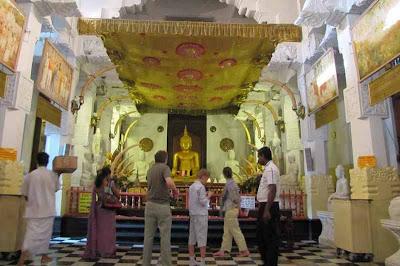Vihara di Sri Langka, Tersimpan Gigi Asli Sang Buddha