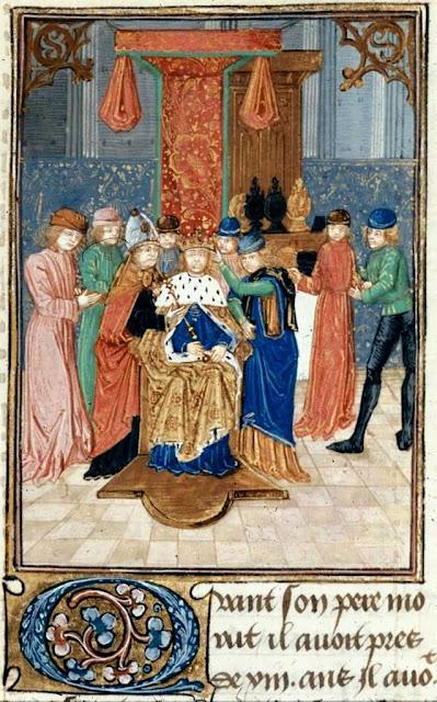 Coroação de Balduino IV, rei de Jerusalém