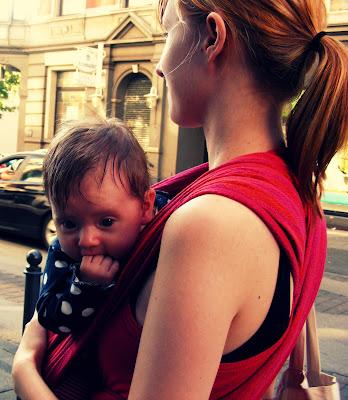 3 Monate alt und schon damals hatte mein Baby nur Flausen im Kopf