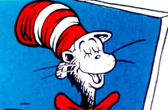 Cat in the Hat, Gambar Kartun 1