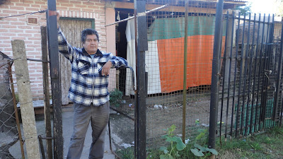 López, en su casa de Presidente Derqui