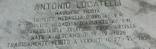 CIMITERO DI BERGAMO TOMBA DI ANTONIO LOCATELLI