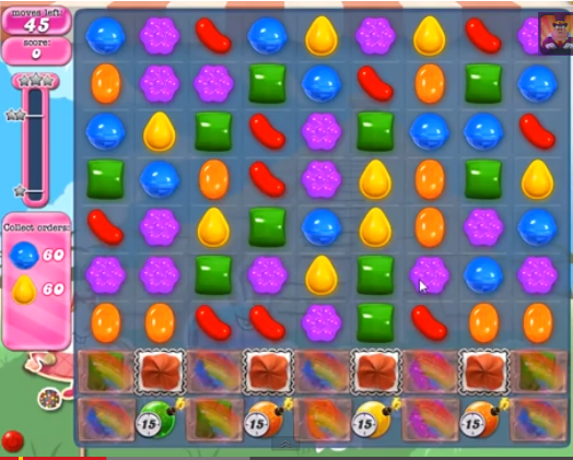 Level 321 | Candy Crush tips level 321