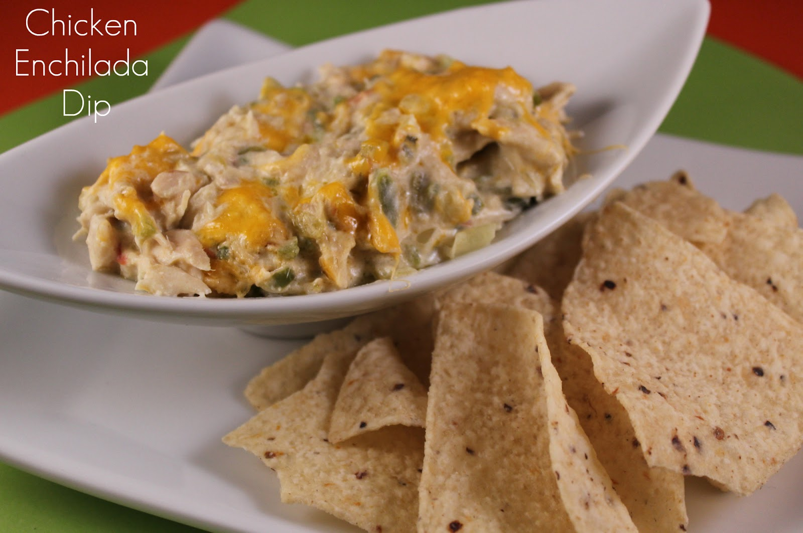 The Apron Gal: Chicken Enchilada Dip