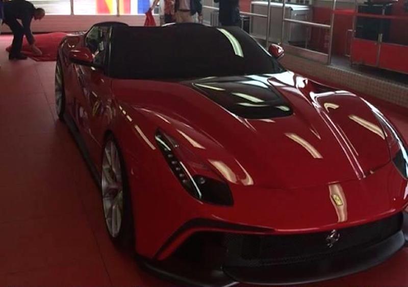 フェラーリF12 TRS