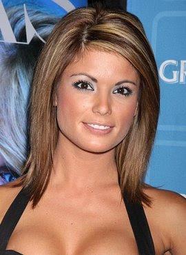 Cute Medium Hair Cut Celebrity Cuts Hairstyle