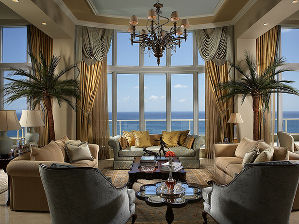 Tropical living room decorating ideas 2012 from hgtv Modern tropical living room