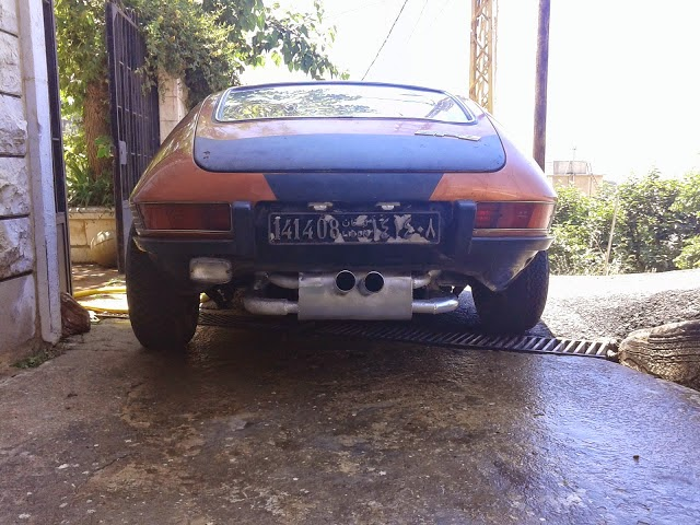 Volkswagen SP2 encontrado no Líbano 02
