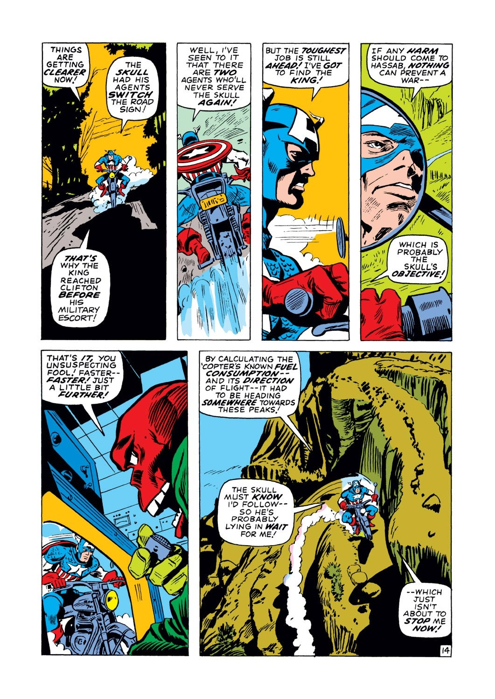 Captain America (1968) Issue #129 #43 - English 14