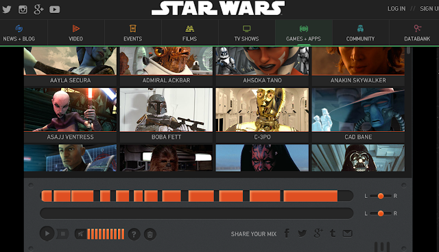 http://www.starwars.com/games-apps/star-wars-soundboard