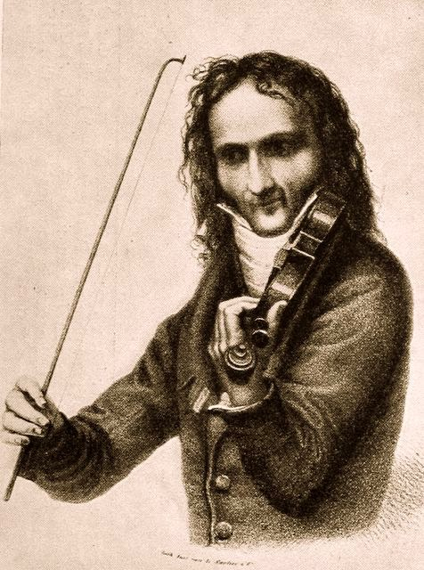 Niccolo Paganini composer of 24 Caprices