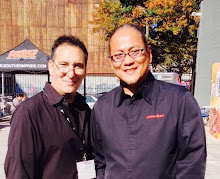Lou with Chef Morimoto