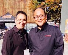 Lou with Chef Morimoto