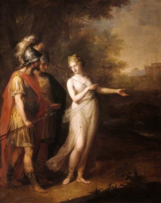 venus and aeneas relationship