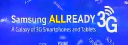 Samsung 3G ready phones