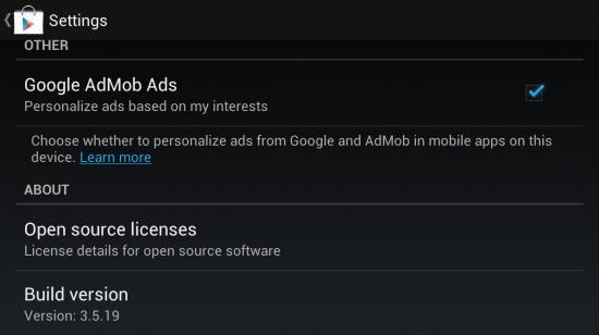 download googleplay store 3 5 19 new update Samsung Tablet Samsung Galaxy Tab 2 7.0