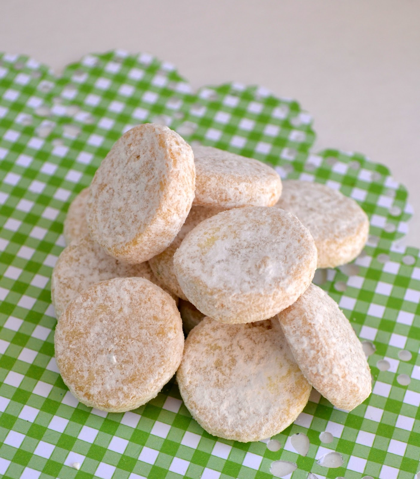 Buttery Citrus Shortbread -- Cottontail Cookies - Healthy Recipe ...