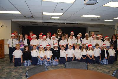 Montgomery Catholic Preparatory School Elementary Choir Brings Christmas Cheer to The Crump Center 1