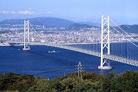 Puente de Akashi Kaikyō, (Kōbe-Awaji, Japón)
